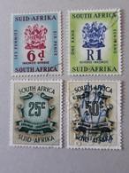 4 Timbres Fiscaux Oblitérés - Afrique Du Sud (1961-...)