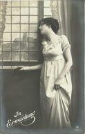 "6 AKs Frau Am Fenster ""In Erwartung"" Serie RPH 5253 ~1910/20 #15 - Femmes"