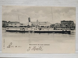 Souvenir Du Lac Leman. Bateau La Suisse - VD Vaud