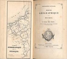 La Belgique Géographique En 1845 - Géographie