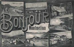 CPA 73 Montmélian Multivues Bonjour_2 - Montmelian