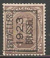 Brussel 1923 Typo Nr. 69A - Préoblitérés