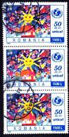 Rumänien / Romania: 'Unicef - Kinderhilfswerk, 1996' / 'Children's Fund', Mi. 5178; Yv. 4321 Oo - 1948-.... Républiques