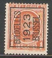 Brussel 1923 Typo Nr. 72A - Préoblitérés