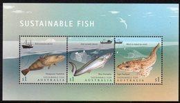AUSTRALIA, 2019 SUSTAINABLE FISH MINISHEET MNH - Nuovi