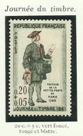 FRANCE - 1961 - JOURNÉE DU TIMBRE - YT N° 1285 - TIMBRE NEUF** - Frankreich