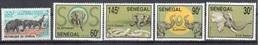 Senegal 1994 Elephant Set + One Mnh ** 8 Euros - Senegal (1960-...)