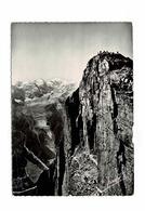 CHAMONIX MONT BLANC LE SOMMET DU BRÉVENT,LE TELEPHERIQUE ET MONT BLANC - Chamonix-Mont-Blanc