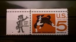 FRANCOBOLLI STAMPS U.S.A. UNITED STATES STATI UNITI 1966 MNH** NUOVI HUMANE ANIMALS - Stati Uniti