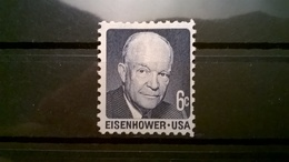 FRANCOBOLLI STAMPS U.S.A. UNITED STATES STATI UNITI 1970 MNH** NUOVI EISENHOWER - Stati Uniti