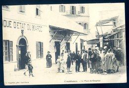 Cpa Du Maroc Casablanca La Place De Kergolay  MA3 - Casablanca