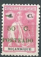 Mozambique - Taxe -  Yvert N° 46 (*)    -  Bce 17011 - Mozambique