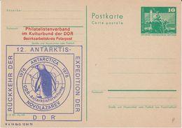 DDR 1978 Rückkehr Der 12. Antarktis Expedition Der DDR Postcard Unused (42335) - Zonder Classificatie