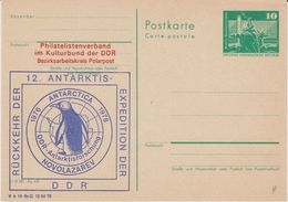 DDR 1978 Rückkehr Der 12. Antarktis Expedition Der DDR Postcard Unused (42335) - Postzegels