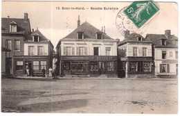 CPA SEINE MARITIME.BOSC-le-HARD.RECETTE BURALISTE - France
