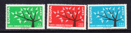 Europa Cept 1962 Turkey 3v ** Mnh (42336) - 1962