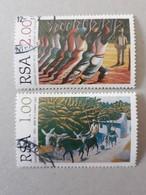 N° 903 Et 904       Hommage Au Peintre Gerard Sekoto - Oblitérés