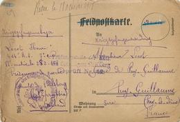 CPA PRISONNIER HEILSBERG - PRUSSE ORIENTALE - GEPRUFT  46 - POILU Du 414° RI -  Vers VICHY (ALLIER)  - SEPT. 1918 - Guerre 1914-18