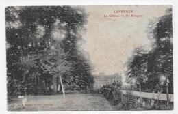 (RECTO / VERSO) LUNEVILLE EN 1915 - LE CHATEAU VU DES BOSQUETS - USURES ET TACHES - CPA VOYAGEE - Luneville