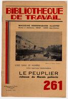 Bibliothèque De Travail 261 8-02-1954 Le Peuplier Du Marais Poitevin - Arbre Poitou Fumure Abattage Débitage ... - Livres, BD, Revues