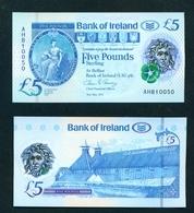 NORTHERN IRELAND  -  2017 Bank Of Ireland £5 Uncirculated Polymer Banknote (released 2019) - [ 2] Irlanda Del Norte
