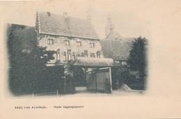 CPA - Belgique - Abdij Van Averbode - Oude Ingangspoort - België