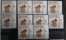 Corn Stock Koruznjak  With Number Plate SLOVENIA 1999  Michel 260 MNH Cultural Heritage - Slovénie