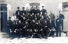 AY (Marne 51) - Militaires Du 9e Régiment De Dragons D'Evreux Et Du 85e D'Infanterie De Cosne 14 Juillet 1911. - Ay En Champagne