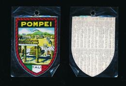 ECUSSON ADHESIF ESCUDOS ADHESIVOS  Neuf  ITALIE  ITALIA POMPEI - Obj. 'Souvenir De'