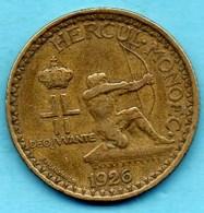 MONACO  2 Francs 1926 Poissy  LOUIS II - 1922-1949 Louis II