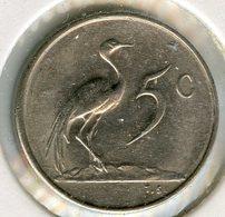 Afrique Du Sud South Africa 5 Cents 1971 KM 84 - Afrique Du Sud