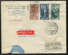 1950 Enveloppe Trieste Zone A - 7. Trieste