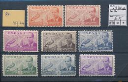 SPAIN AIR YVERT 217/223A MNH - Poste Aérienne