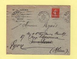 Garcia - Beziers Herault - 8 Avril 1915 - Annullamenti Meccanici (pubblicitari)