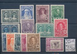 SPAIN YVERT 288/299 LH - 1931-Aujourd'hui: II. République - ....Juan Carlos I