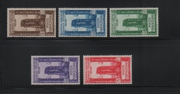 Tripolitania 1930 Pro Istituto Agricolo Serie Cpl MLH - Tripolitania