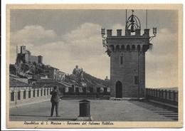 Repubblica Di San Marino. Terrazza Del Palazzo Pubblico. Bella Affrancatura. - Saint-Marin