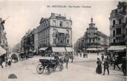 Belgique - Bruxelles - Rue Royale - Carrefour - Lanen, Boulevards