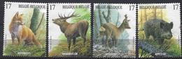 België O.B.C   2748 - 2751   (O)  Natuur - Blocks & Kleinbögen 1962-....