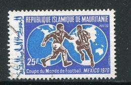 MAURITANIE- Y&T N°281- Oblitéré (football) - Mauritanie (1960-...)