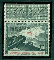 Feldpost, Private Ausgabe, Legion Des Volontaires Francis, Nr IV Postfrisch ** - Besetzungen 1938-45