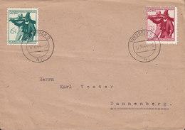 Germany Deutsches Reich INNSBRUCK 1944 Cover Brief Tiroler Landesschiessen Complete Set !! - Deutschland