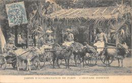 75-PARIS-JARDIN D ACCLIMATATION-CARAVANE INDIENNE-N°2409-B/0271 - Autres