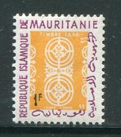 MAURITANIE- Service Y&T N°27- Neuf Sans Charnière ** - Mauritanie (1960-...)