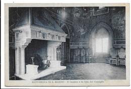 Repubblica Di San Marino. Il Camino E La Sala Del Consiglio. - Saint-Marin
