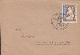 Deutsches Reich Sonderstempel 'Europäischer Postkongress' WIEN 1942 Cover Brief DANNENBERG / Elbe Horse Pferd Cheval - Covers & Documents