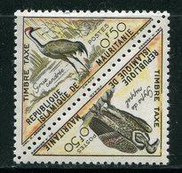 MAURITANIE- Taxe Y&T N°34 Et 35- Neuf Sans Charnière ** (oiseaux) - Mauritanie (1960-...)