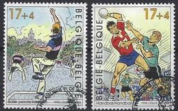 België O.B.C   2760 / 2761   (O)   Sport - Blocks & Kleinbögen 1962-....