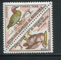 MAURITANIE- Taxe Y&T N°36 Et 37- Neuf Sans Charnière ** (oiseaux) - Mauritanie (1960-...)