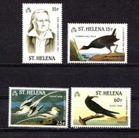 SAINT  HELENA    1985    Birth  Centenary  Of  John  Audubon    Set  Of  4    MNH - Saint Helena Island